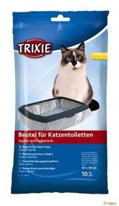 Trixie Пакеты уборочные для кошачьих туалетов L - 46*59 см, 10 шт