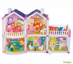 Кукольный домик Lovely House 127 деталей
