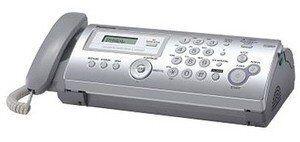 Факс Panasonic KX-FP207RU серый печ.:термоперенос АОН