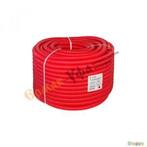 Производитель не указан КОЖУХ для трубы 16 (диаметр 25) красный(ШАГ ПРОДАЖИ 5 М) VALTEC SK 40025к
