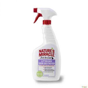 Natures Miracle JFC Litter Box Odor Destroyer - Спрей Уничтожение запаха кош.туалета 709 мл