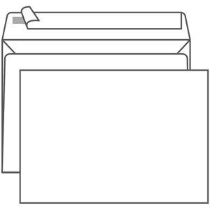 Конверт C4, Ряжская печатная фабрика, 229*324мм, б/подсказа, б/окна, отр. лента