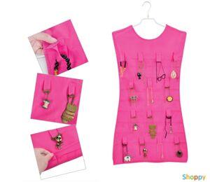Платье для украшений (двухстороннее, розовое)