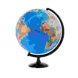 Глобус политический  Глобусный мир 42см,на круглой подставке