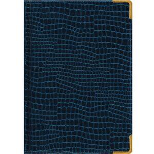 Ежедневник А5 192 л. Iguana(тёмно-синий) полудатированный Listoff