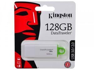 Флэш-накопитель 128Gb Kingston DataTraveler G4, USB 3.0