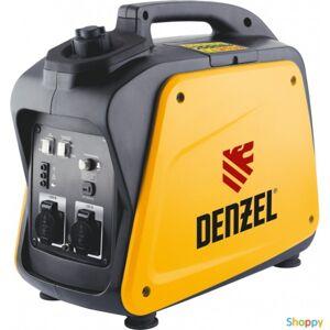 Denzel Генератор инверторный GT-2100i, X-Pro 2,1 кВт, 220В, бак 4,1 л, ручной старт // Denzel
