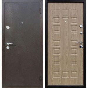Дверь входная Йошкар Ель Карпатская 205х96 см, Правая
