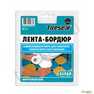 Производитель не указан Лента-Бордюр Titeseal самоклей 22мм*3.35м (белая)