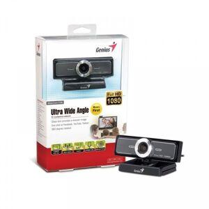 Веб-камера Genius WideCam F100 {1080p Full HD, mic, унив. крепление, USB, черный}