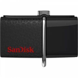 Флэш-накопитель 016Gb Sandisk Ultra Dual SDDD2-016G-GAM46 USB3.0 черный