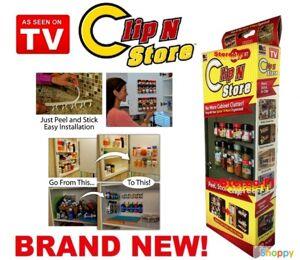 Навесные полочки для специй Clip N Store