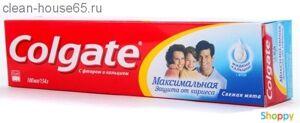 "COLGATE.Зубная паста Максимальная защита от кариеса ""Свежая мята"" 100мл, шт"