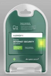 ПО Антивирус Касперского Internet Security для Android Russian Edition 1 Device 1 year Base Card (KL