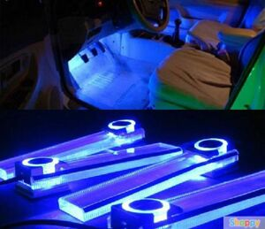 LED подсветка салона автомобиля (синяя)