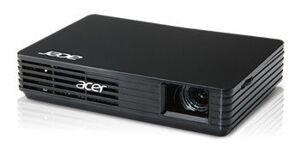 Проектор Acer C120 DLP 100Lm (854x480) 1000:1 ресурс лампы:20000часов 1xUSB typeB 0.18кг