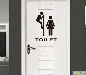 Стикер на дверь туалета Кто здесь?