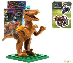 Конструктор Парк Юрского периода Динозавр №4