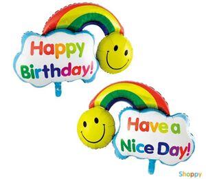 Фигурный шар Happy Birthday