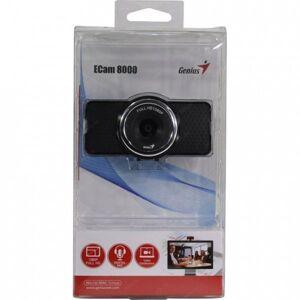Веб-камера Genius ECam 8000 {1080p Full HD, mic, унив. крепление, USB, черный}