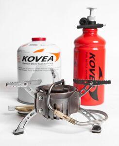 Горелка KOVEA мультитопливная (газ-бензин) KB-0603 Booster +1