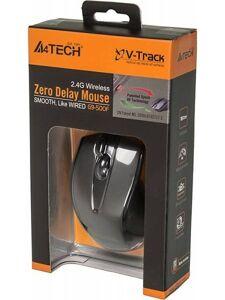 Мышь A4Tech G9-500F-1 (черный) USB, 3+1 кл-кн., беспр.опт.мышь, 2.4ГГц [601106]