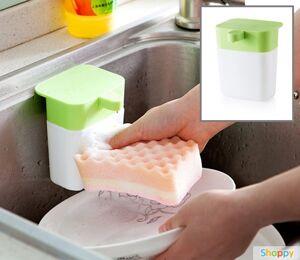 Дозатор средства для мытья посуды GREEN