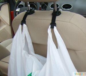 Крючки для пакетов в автомобиль - 2 штуки