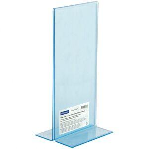 Тейбл-тент (подставка для рекламы) OfficeSpace, 1/3 А4, двухсторонний, вертикальный