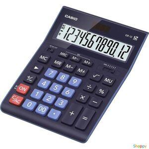 Калькулятор 12 раз. Casio, бухг., 210*155*34,5мм., синий (к735819)