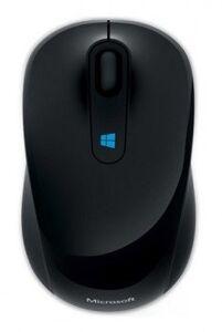 Мышь Microsoft Sculpt черный оптическая (1600dpi) беспроводная USB2.0 для ноутбука (3but)