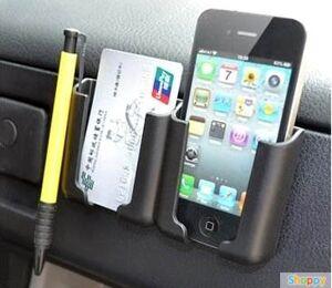 Подставка под телефон на панель авто (черная)