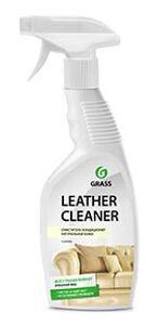 Чистящее и полирующее средство Grass для различных поверхностей и помещений Leather Cleaner, триггер (флакон 600 мл)