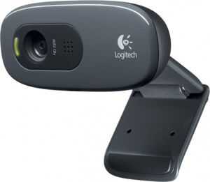 Веб-камера Logitech Webcam C270 HD {HD 720P, USB, Mic, Black}