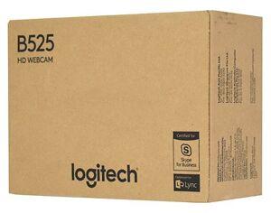 Веб-камера Logitech Webcam B525 HD {HD 720P, складная, повортная, шнур 1,5м, USB, черная}