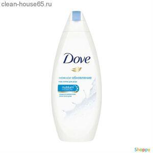 Dove.Крем-гель д/душа Нежное обновление 250 мл., шт
