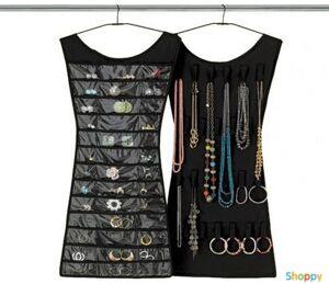 Платье для украшений (двухстороннее, черное)