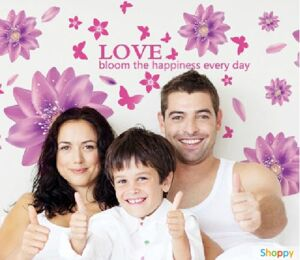 Настенный стикер Лето любви PURPLE