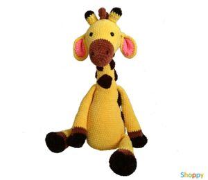 Вязанная игрушка Жирафик  ручная работа
