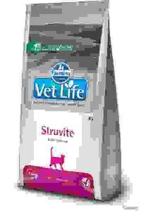 Vet Life Cat Struvite - Диета для Кошек при МКБ Растворение Струвитов. Вес: 0,4 кг