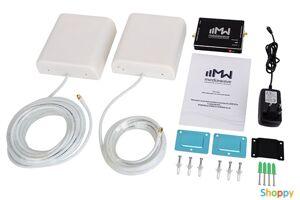 GSM MediaWave 1800МГц GSM/4G-LTE (MWK-18-N,до 1000 м2, 65дб,200мВт,РРУ)