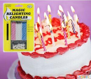 Магические незадуваемые свечи для торта