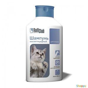 Rolf Club Шампунь Инсектицидный для кошек, 400мл
