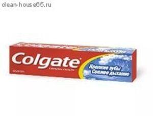 """COLGATE.Зубная паста """"Свежее дыхание Крепкие зубы"""" 100мл, шт"""