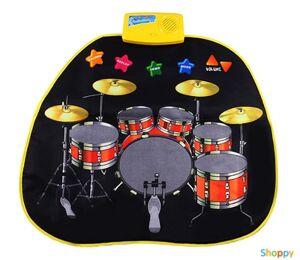 Музыкальный коврик Барабанная установка