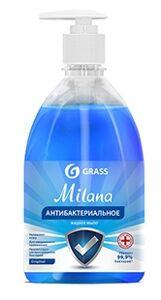 Жидкое мыло антибактериальное Grass Milana Original   (флакон 500 мл)