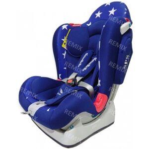 Автокресло 0-25 кг SisterBeBe Capsule JM03 Синий/синий со звездами (stars blue)