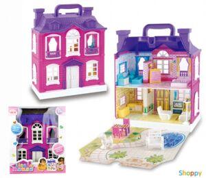 Музыкальный кукольный домик Little House