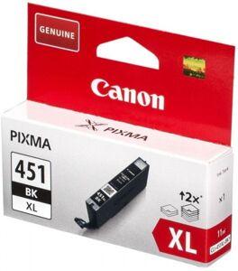 [CLI-451XLBK] {уценён} Картридж Canon (черный, 5K, повыш., истек с/г) для PIXMA-MX924, MG54