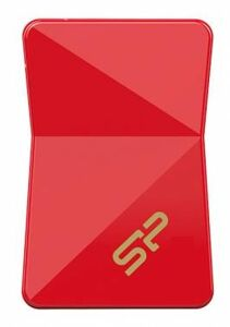 Флэш-накопитель 016Gb Silicon Power Jewel J08 SP016GBUF3J08V1R USB3.0 красный